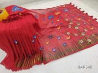 Half Silk Exclusive Party Saree