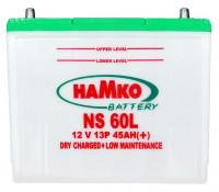 Hamko NS60L Car Battery