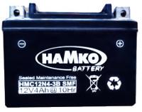 Hamko 12V 4AH Sealed Bike Battery