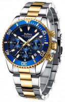 Biden 0163 Stainless Steel Quartz Watch