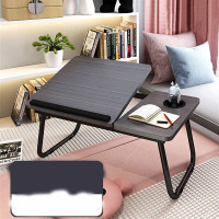 Folding Laptop Desk with Cup Holder