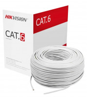 Hikvision Cat-6 White Network Cable