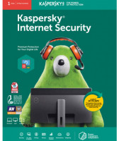 Kaspersky Internet Security Anti-Spam 1 PC 1 Year License