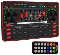 Tenlamp G3 Audio Mixer Live Sound Card