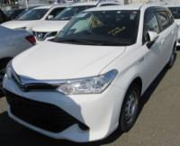 Toyota Fielder X Hybrid 2016 White