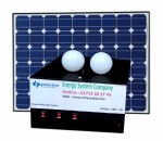 Ensysco EMS-20 20-Watt Mini Solar Power Home System