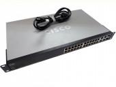 Cisco SF300-24 Managed 24-Port 10/100 LAN Ethernet Switch