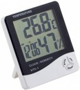 HTC-1 Room Temperature and Humidity Meter with Time