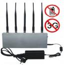 EST-808D 5-Antenna Mobile Phone Network Signal Jammer