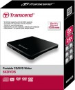 Transcend CD/DVD Writer 24x Portable Ultra-Slim TS8XDVDS-K