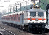Train Ticket Kolkata-Delhi India by Kolkata Rajdhani Express