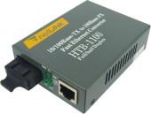 NetLink HTB-1100 Fiber Media Fast Ethernet Converter Device