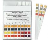 pH Indicator Sticks Clear Plastic Container for Laboratory