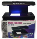 AD- 818 UV Lamp Multifunction Fake Money Note Detector