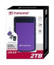 Transcend StoreJet 25H3 USB 3.0 Portable 2TB Hard Disk Drive