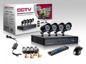 CCTV Package Lionvision LV-K5104AHD AHD 4 Pieces Camera