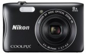 NIkon Coolpix S3700 Compact Digital Camera 20MP WiFi 8x Zoom
