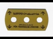 GSM Cutter Blade