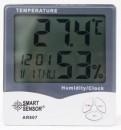 Temperature Humidity Meter LCD Display Alarm Clock