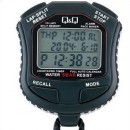 Q&Q HS45-001 Water Resistant 10-Lap Split Memory Stopwatch
