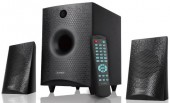 "F&D F210X 2:1 Bluetooth 2.5"" Satellite Home Speaker"