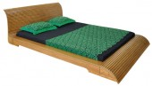 Hatil Oak Wood Slim Bed