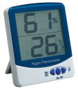 Presto 110 LED Display ABS Digital Hygrometer