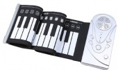 Hand Roll Electronic Piano 49 Soft Keys 16 Tone Function