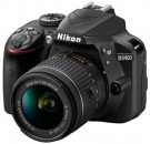 Nikon D3400 Auto Focus 24MP Full HD Digital SLR Camera