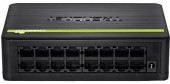 Trendnet TE100-S16Dg 16 Ethernet Port GREENnet Switch