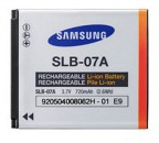 Samsung SLB-07A Rechargeable Li-Ion Digital Camera