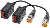 HD CCTV Video Balun Coax-UTP AHD /  TVI / CVI Support Cable