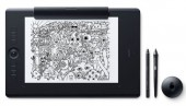 Wacom PTH860P Intuos Pro Paper Large Graphics Tablet