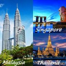 Singapore-Malaysia-Thailand 6 Days / 5 Nights Tour Package