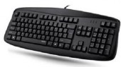 Rapoo N2500 USB Black Wired Computer Keyboard