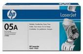 HP 05A Black 2300 Page Yield Printer Toner Cartridge