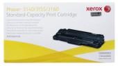 Black Laser Toner Cartridge For Xerox 3160