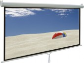 Manual Wall or Ceiling Mount Projector Screen 96 x 96