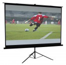 """Tripod Projector Screen 70"""" x 70"""" Mate and White"""