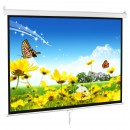 Manual 70 Inch x 70 Inch Projector Screen