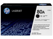 HP 80A Original Black LaserJet Printer Toner Cartridge