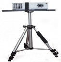Adjustable LPT-04 125cm Height Projector Trolley