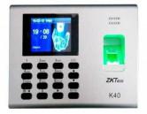ZKTeco K40 2.8-Inch Fingerprint Time Attendance System