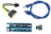 PCI-E Riser USB to PCI Graphics Mining
