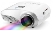 RD-802 HD 60 Lumens Brightness HDMI VGA LED Projector