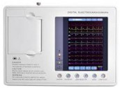ECG Machine PE-3B Three Channel Real-Time Waveform