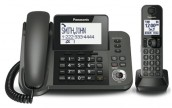 Panasonic KX-TGF350C Digital Corded / Cordless Telephone
