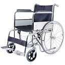 Wheelchair Collapsible Chrome-Plated Steel Frame FY-809-46