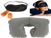 Three-in-One Comfortable Travel Pillow