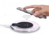 Wireless Fast Charger Transparent QI Charging Pad Station